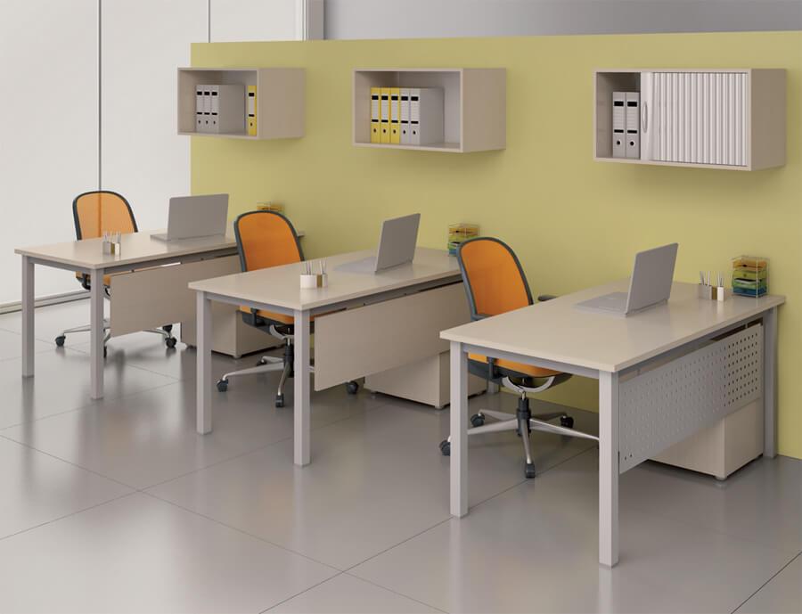 Aranżacja biurko Classic - Wypożyczalnia mebli biurowych