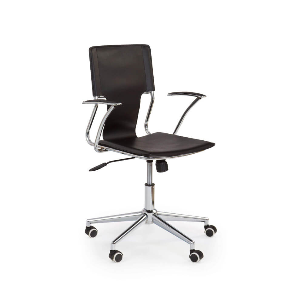 Fotel Chrome Black - Wypożyczalnia mebli biurowych